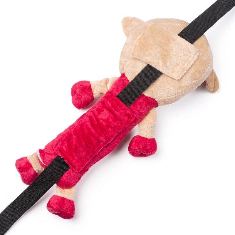 Djeca ga obožavaju! Mekani jastučić za putovanje, koji je prije svega odlična zaštita za sigurnosni pojas, ali i lijepa igračka za vaše dijete. Sa motivom ovčice.