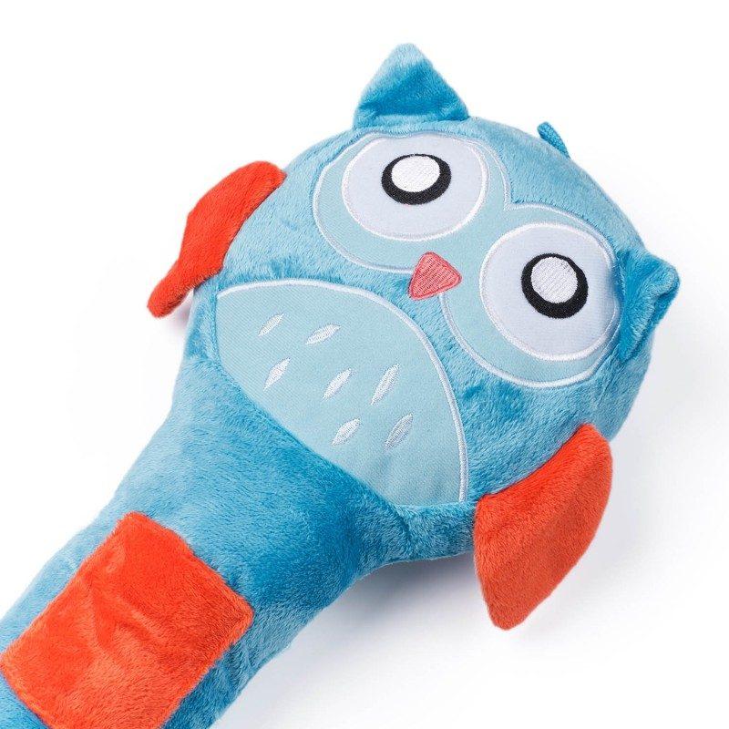 Djeca ga obožavaju! Mekani jastučić za putovanje, koji je prije svega odlična zaštita za sigurnosni pojas, ali i lijepa igračka za vaše dijete. Sa motivom sove.