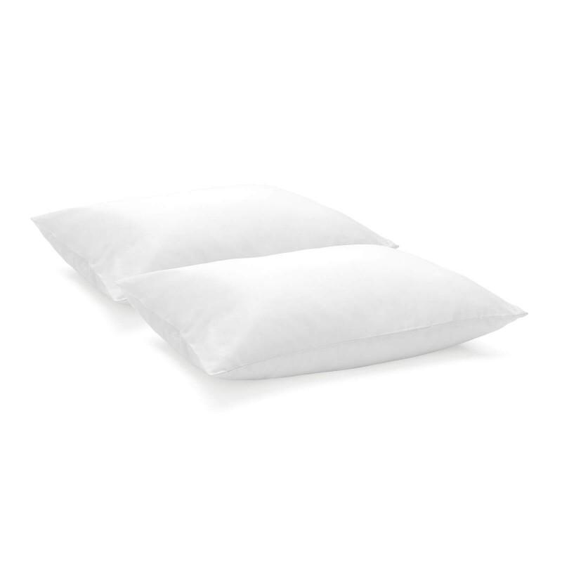 Set jastučnica Ivonne predstavlja idealno rešenje, kada vam nije potrebna posteljina u kompletu. Izrađene od renforce platna, koje se smatra mekanom tkaninom i lakom za održavanje. Klasične jednobojne jastučnice, mogu se kombinovati sa različitim dezenima posteljina. Perive na 60 °C.