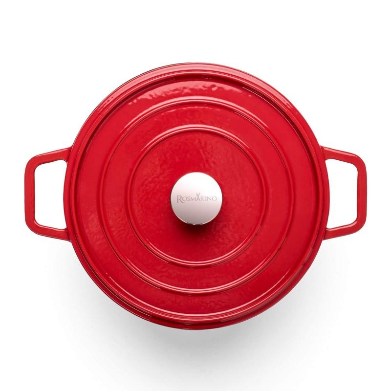 Za sve ljubitelje kuvanja i gurmane koji imaju visoka očekivanja od posuđa. Lonac od livenog gvožđa je izvanredne izrade, vrhunskog kvaliteta i ima višestruku upotrebu. Svo posuđe iz linije Blacksmith's odlikuje moderan dizajn i nevjerovatna izdržljivost posuđa od livenog gvožđa i emajla. Pogodan je za sve ploče za kuvanje, uključujući indukciju kao i upotrebu u rerni i na otvorenoj vatri.