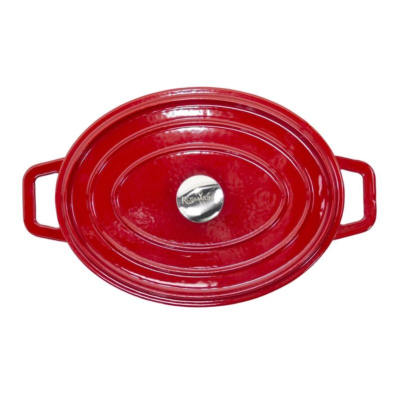 Za sve ljubitelje kuvanja i gurmane koji imaju visoka očekivanja od posuđa. Lonac od livenog gvožđa Blacksmith's je izvanredne izrade, vrhunskog kvaliteta i ima višestruku upotrebu. Svo posuđe iz linije Blacksmith's odlikuje moderan dizajn i nevjerovatna izdržljivost posuđa od livenog gvožđa i emajla. Pogodan je za sve ploče za kuvanje, uključujući indukciju kao i upotrebu u rerni i na otvorenoj vatri.