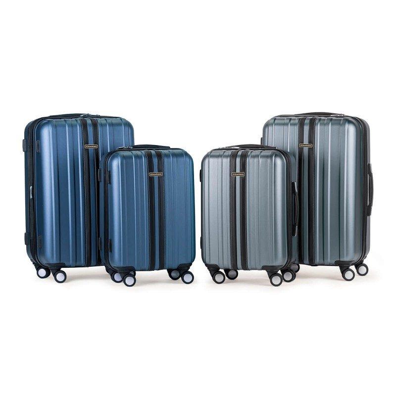 Tvrdi kofer za putovanje Scandinavia predstavlja novu generaciju visokokvalitetnih kofera od vodootporne ABC plastike. Cjelokupna kolekcija temelji se na inovaciji i izuzetnoj izdržljivosti koja je testirana i dokazana na nekoliko testova opterećenja. Svi koferi iz kolekcije Scandinavia imaju ograničenu 5-godišnju garanciju i dostupni su u dvije veličine.
