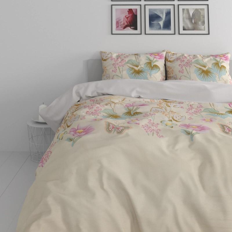 Vrijeme je za potpuno uživanje u modernim pamučnim posteljinama! Posteljina English Garden je izrađena od renforce platna, koji važi za laganu i mekanu tkaninu, koja se lako održava. Moderan dizajn sa cvijetnim motivom će vas očarati. Posteljina je periva na 40 °C.