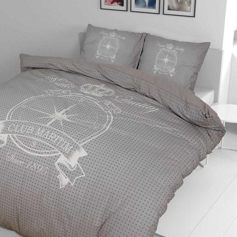 Vrijeme je za potpuno uživanje u modernim pamučnim posteljinama! Posteljina Azimut od renforce platna, mekane tkanine, jednostavna za održavanje. Očarati će vas moderan dizajn sa mornarskim motivom. Posteljina je periva na 40 °C