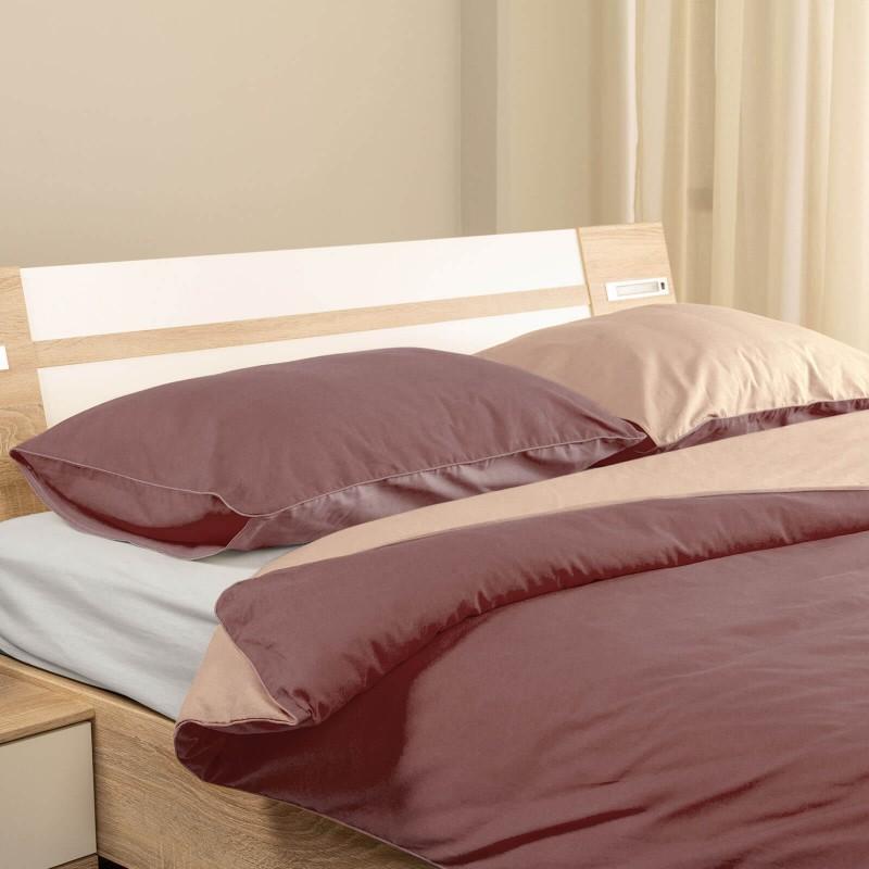 Vrijeme je za potpuno uživanje u modernim pamučnim posteljinama! Posteljina French Rose izrađena je od renforce platna, mekane tkanine, jednostavne za održavanje. Mogućnost upotrebe sa obje strane. Posteljina je periva na 40 °C.