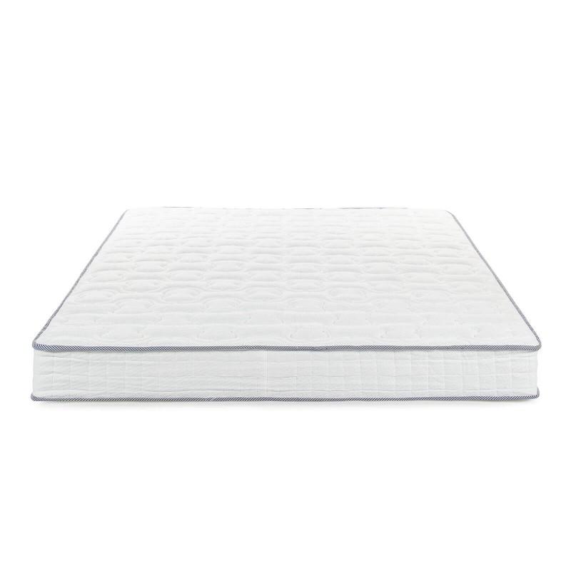 5-zonski dušek Hitex Spring Air Comfort visine 22 cm, pruža vašem tijelu potpunu podporu i udobnost, tako da ćete ujutru biti odmorni i naspavani. Nezavisne džepičaste opruge u kombinaciji sa dodatnim slojem filca u jezgru i hladno valjanom pjenom u tri sloja, osiguravaju pravilan položaj tijela i opuštajući san.