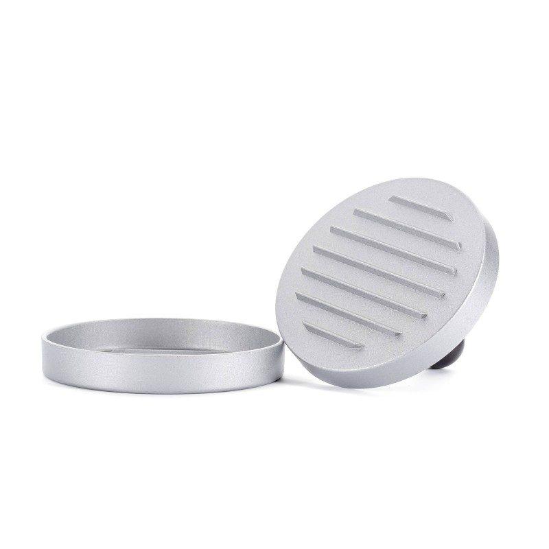 Jednostavno pecite sa modernim priborom za roštilj. Aluminijski kalup je neophodan alat za pripremu i dizajniranje pljeskavice kako na pikniku, tako i u kuvanju kod kuće. Dimenzije su 11.8 x 8.5 cm.