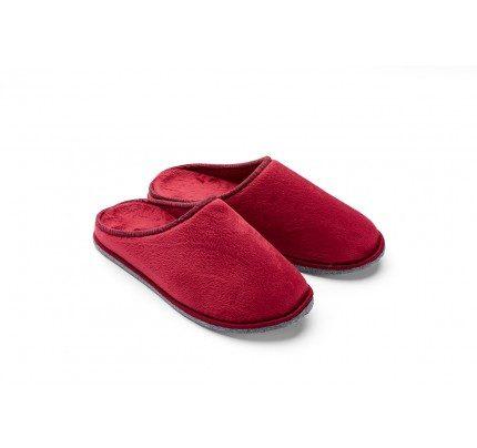 Muške papuče VITAPUR Family Soft Touch HOME – crvene