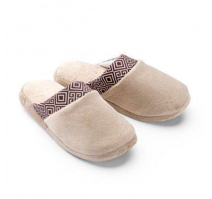 Ženske papuče VITAPUR Family Soft Touch HOME – bež