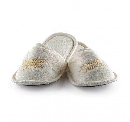 Papuče Vitapur SoftTouch sa printom – bež