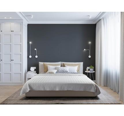 Prekrivač za krevet Svilanit Ecru - bež