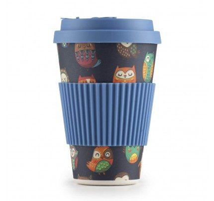 Bambus šoljica za kafu Sova - 400 ml