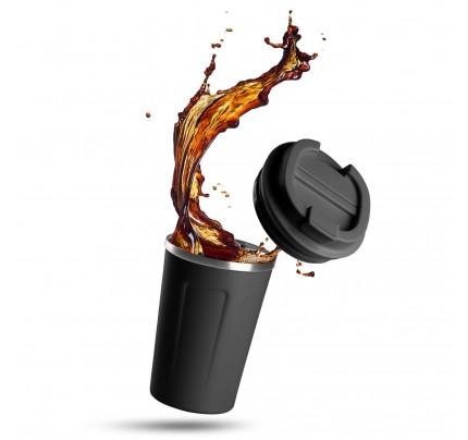 Termos za kafu ili čaj Rosmarino 350 ml - crni