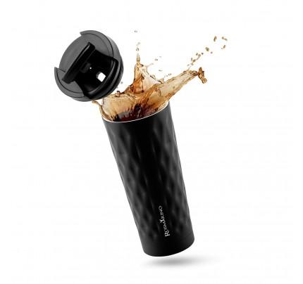 Termos za kafu ili čaj  Rosmarino 500 ml - crni