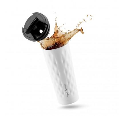 Termos za kafu ili čaj Rosmarino 500 ml - bijeli