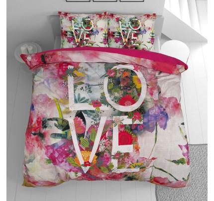 Pamučna posteljina Svilanit Love&Energy