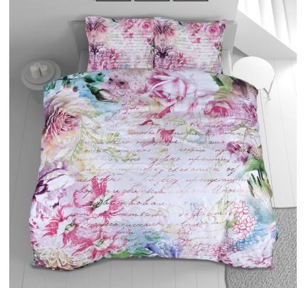 Pamučno satenasta posteljina Svilanit Meadow