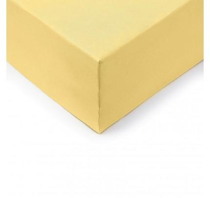 Čaršav s lastikom Vitapur Lyon XXL – žuti