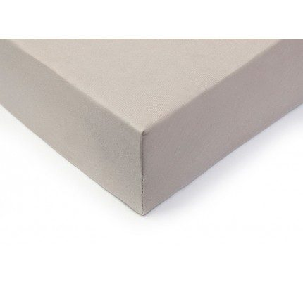 Pamučni elastični čaršav Lyon - sivi