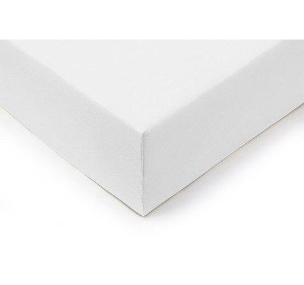 Pamučni elastični čaršav Lyon - bijeli