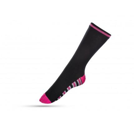Čarape ženske Svilanit Marshal - pink linije