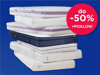 DUŠECI HITEX do -50% + POKLON