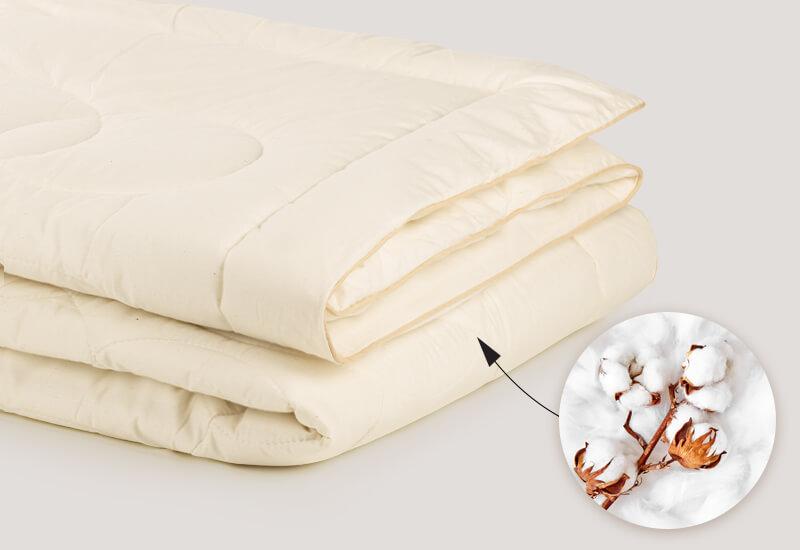 Tkanina navlake od 100% nebijeljenog pamuka, koji je izuzetno prijatan za kožu