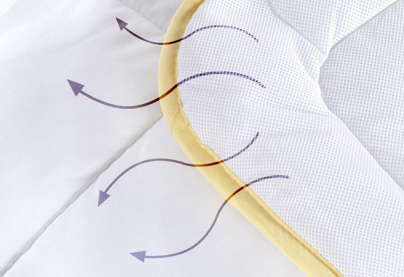 Tkanina AirMesh za dodatnu svježinu i prozračnost