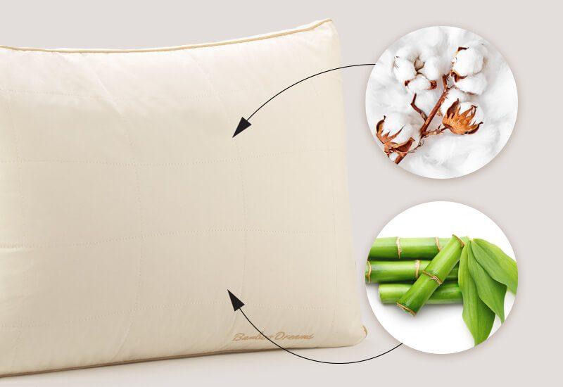 Navlaka od 100 % nebijeljenog pamuka sa bambusovim vlaknima za dodatnu svježinu i čistiju okolinu za spavanje