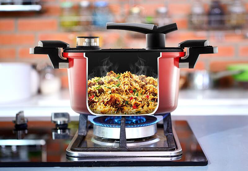 Odabrani kvalitetni materijali za brzo kuvanje i dug životni vijek